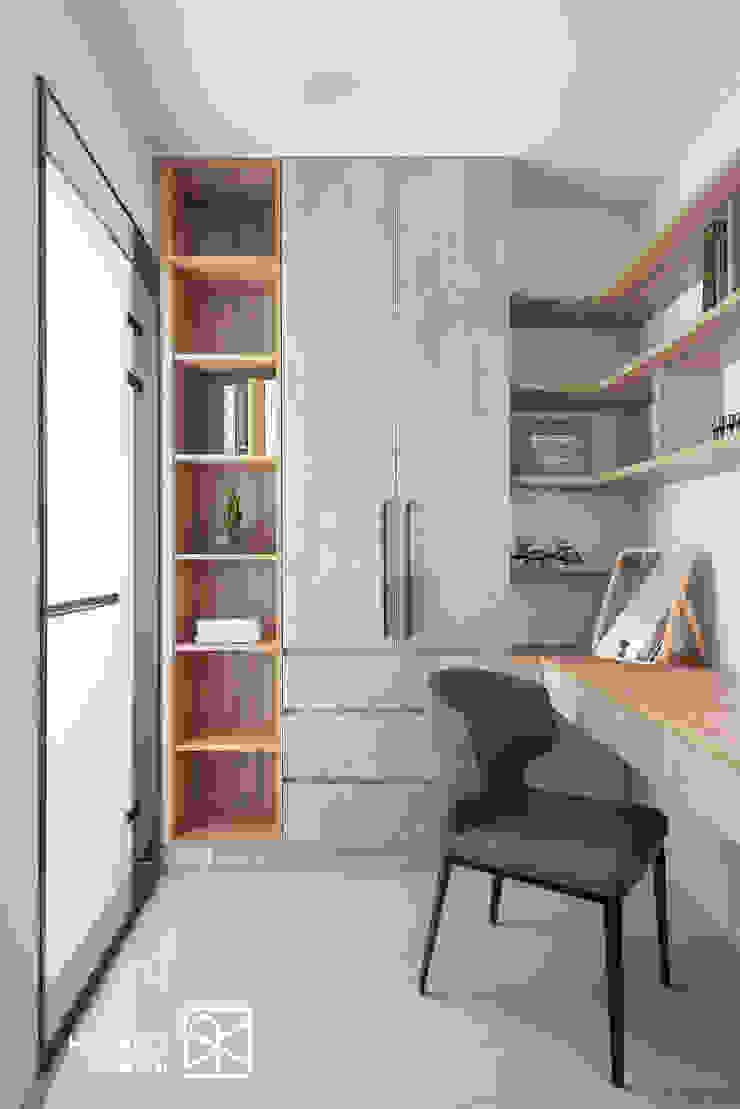 更衣室 Asian style dressing room by 禾廊室內設計 Asian