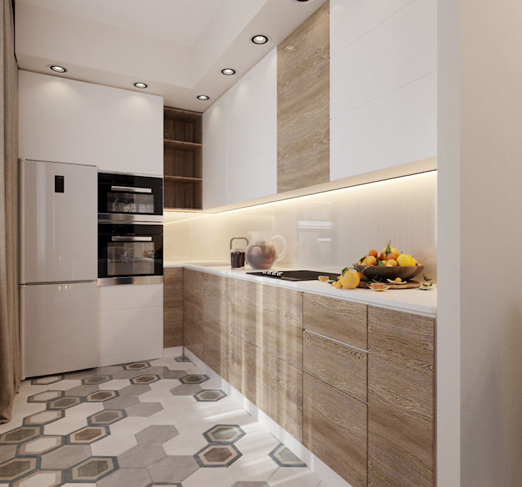 Built-in kitchens by ReDi, Minimalist