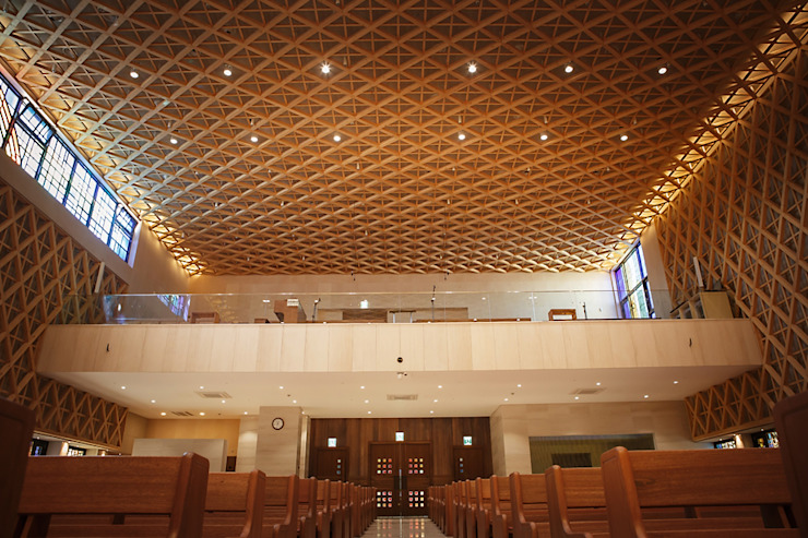 Catholic Church 모던 스타일 행사장 by 피투엔디자인 _____ p to n design 모던