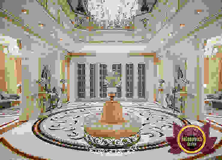 Fine Fancy Hall Interior by Luxury Antonovich Design