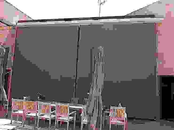 Área Deluxe Balconies, verandas & terracesAccessories & decoration Textile Brown