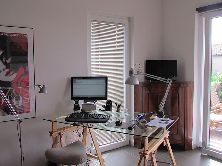 Área Deluxe Study/officeAccessories & decoration Aluminium/Zinc White
