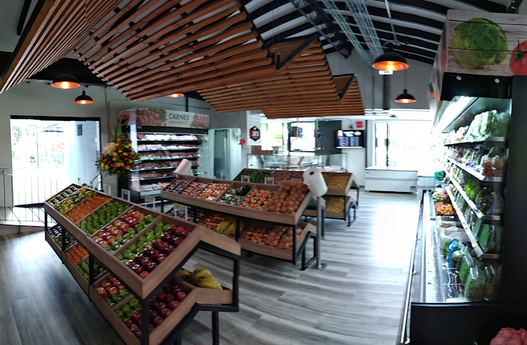 VENDIMIA FRESH MARKET & LILY´ S CAFÉ de @tresarquitectos Clásico