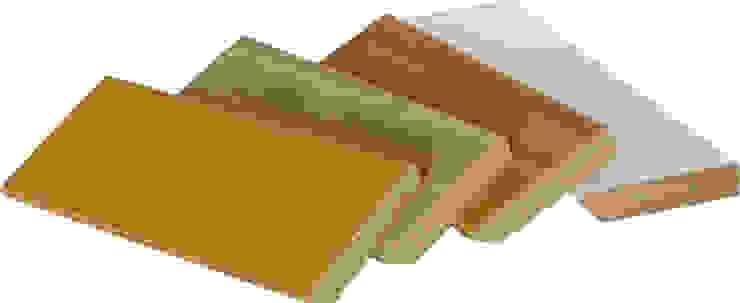Rodapé contraplacado de bétula ou lamelado de madeira folheado/recoberto por Grupo Corpe®