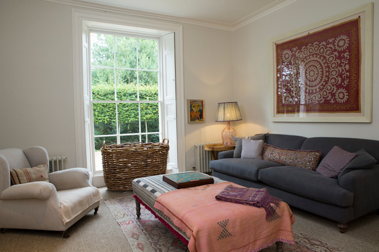 Informal sitting room by CLPM Ltd Construction Project Consultancy Country