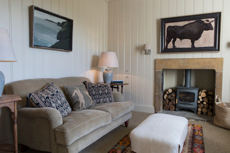 Informal living room by CLPM Ltd Construction Project Consultancy Country