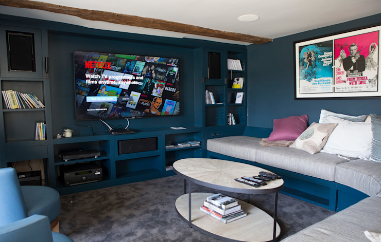 Cinema room by CLPM Ltd Construction Project Consultancy Country