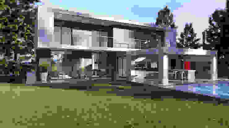 Contrafrente de Arky5 Arquitectura & Estructuras Moderno