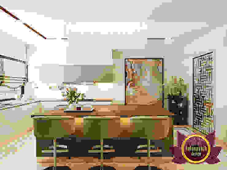 Marvelous and Wonderful Kitchen Interior by Luxury Antonovich Design