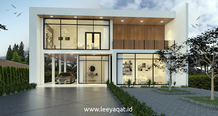 Single family home by PT. Leeyaqat Karya Pratama,