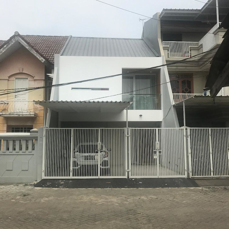 After Renovation Equator.Architect Rumah Minimalis