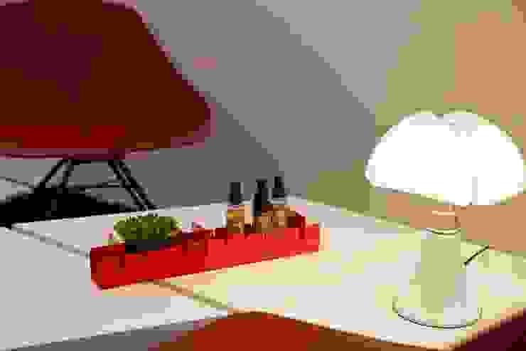 PETTINE rosso ciliegia Mipiacemolto CasaAccessori & Decorazioni Metallo