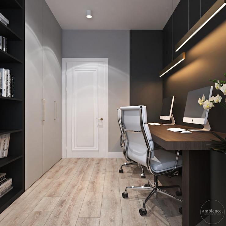 Ambience. Interior Design Classic style study/office