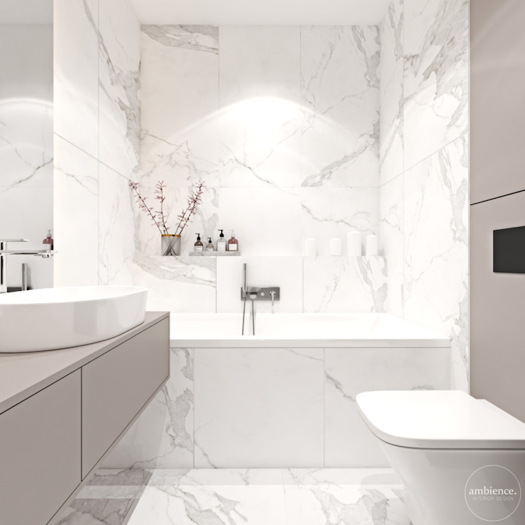 Ambience. Interior Design Classic style bathroom