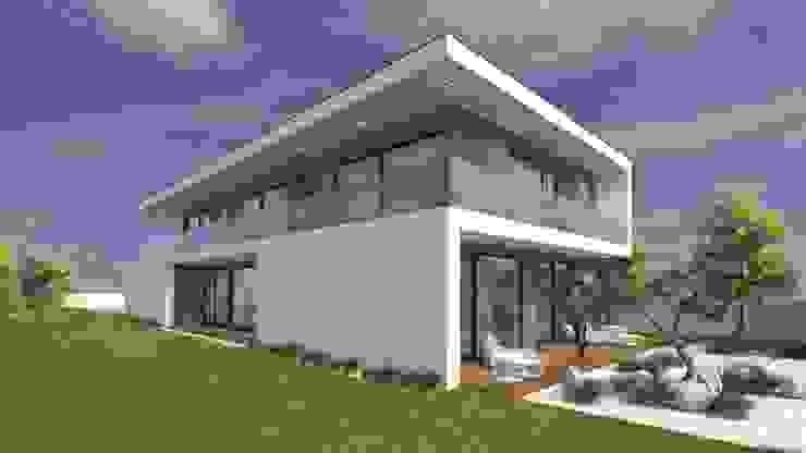 Casas unifamiliares de estilo  por Miguel Zarcos Palma,
