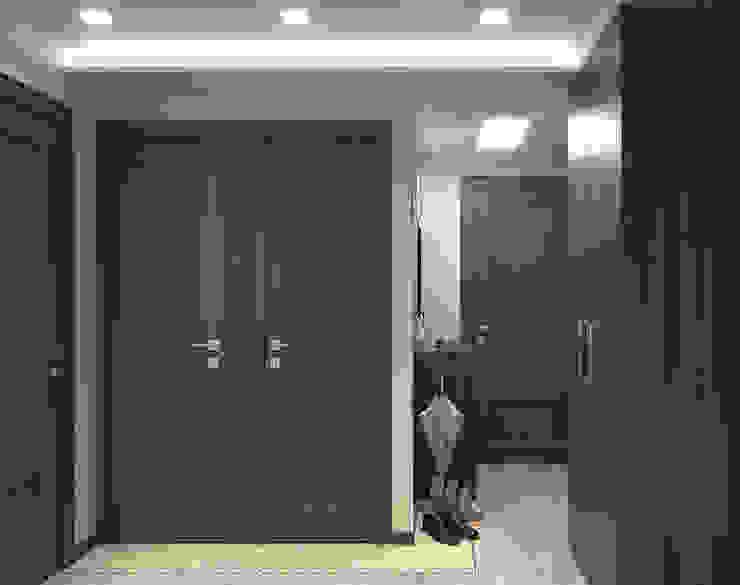 Pasillos, vestíbulos y escaleras de estilo minimalista de ИнтеРИВ Minimalista