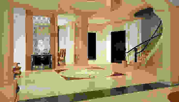 فيلا سكنية: كلاسيكي  تنفيذ smarthome, كلاسيكي