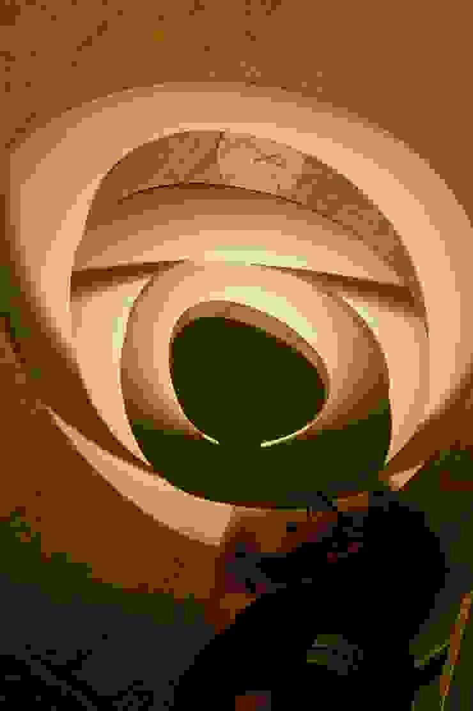 Industrial style bedroom by UNO iluminación Industrial Concrete