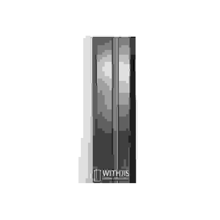 측면 모던스타일 거실 by WITHJIS(위드지스) 모던 알루미늄 / 아연