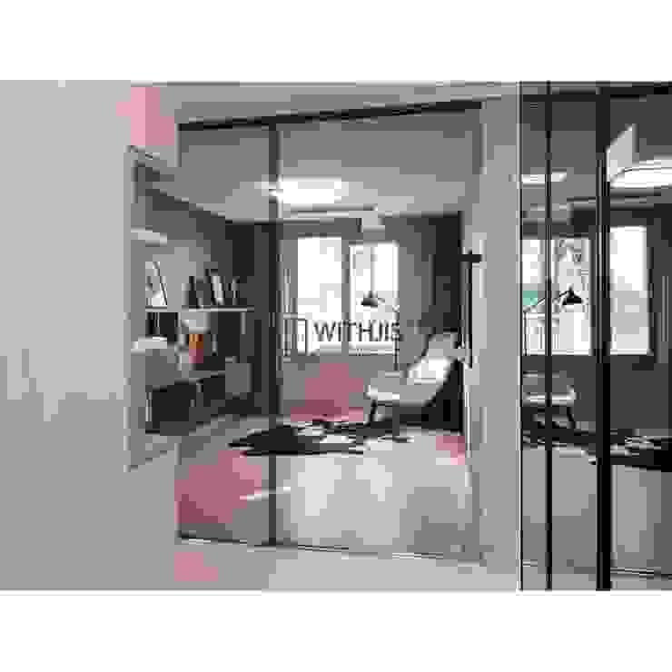 Moderne Wohnzimmer von WITHJIS(위드지스) Modern Glas