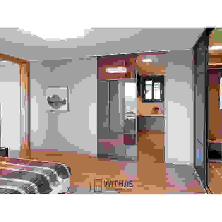 Moderne Ankleidezimmer von WITHJIS(위드지스) Modern Aluminium/Zink