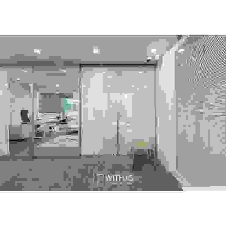 Moderne kantoorgebouwen van WITHJIS(위드지스) Modern Aluminium / Zink