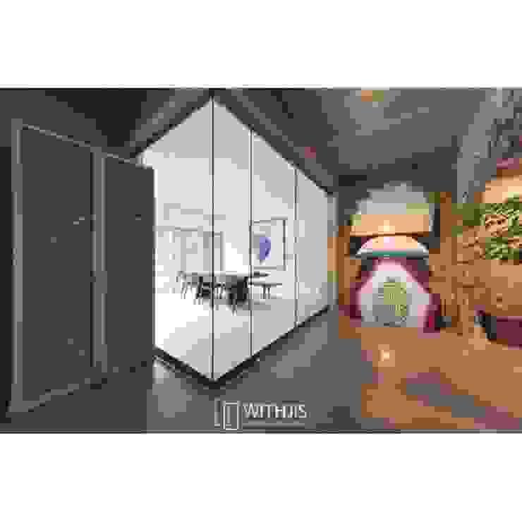 WITHJIS(위드지스) Moderne Bürogebäude Glas Transparent