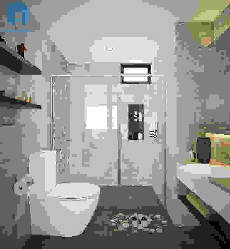 nội thất phòng tắm Phòng tắm phong cách hiện đại bởi Công ty TNHH Nội Thất Mạnh Hệ Hiện đại