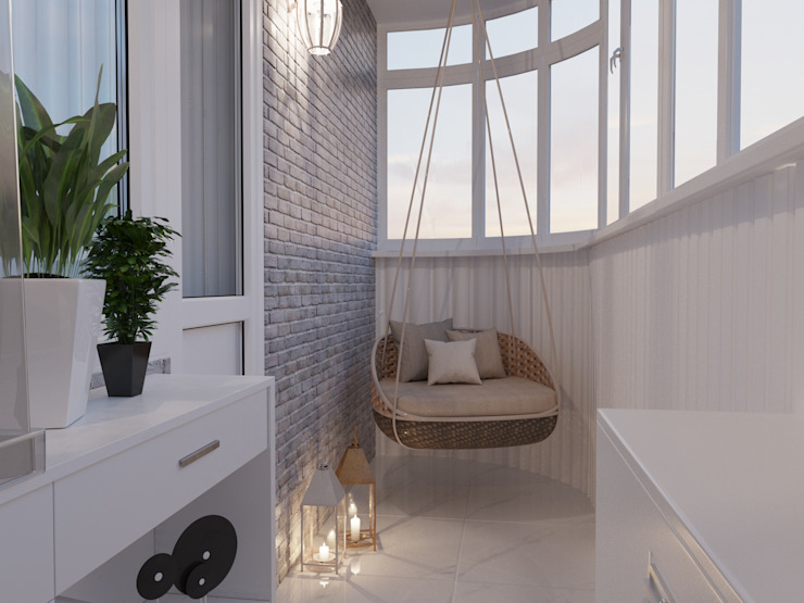 Balcón de estilo  por ReDi, Clásico