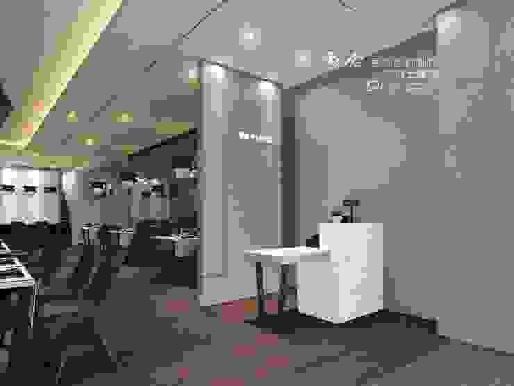 櫃檯/商業空間/現代風/收銀檯 根據 木博士團隊/動念室內設計制作 古典風