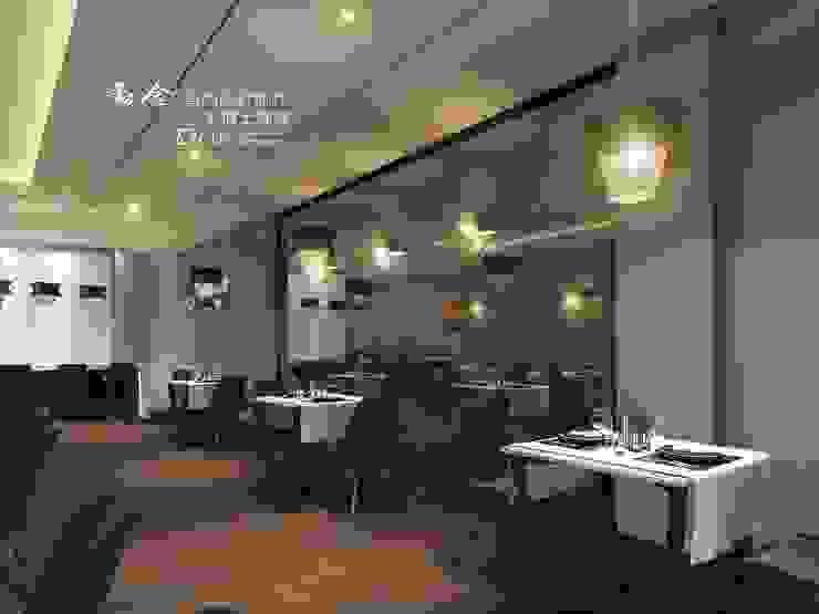 餐廳/商業空間 根據 木博士團隊/動念室內設計制作 古典風
