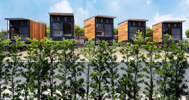 Qcamp 2019 根據 FAMWOOD 自然紅屋 工業風