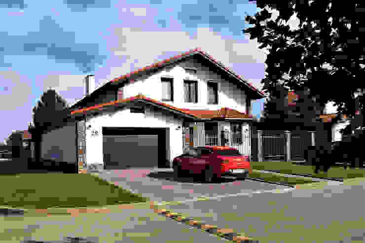 Casas unifamiliares de estilo  por студия  Александра Пономарева, Escandinavo Ladrillos