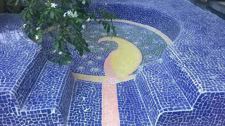 von Baghorama Landscape Architects Rustikal Keramik