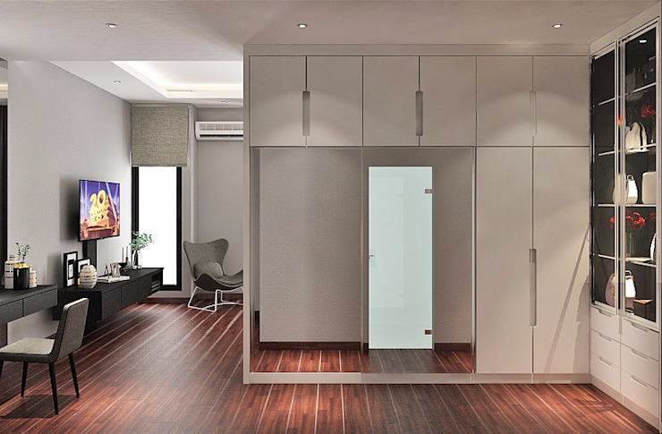 Modern style dressing rooms by Lighthouse Architect Indonesia Modern