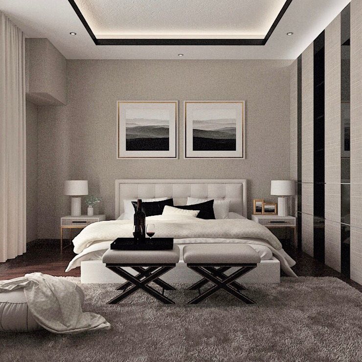 Moderne Schlafzimmer von Lighthouse Architect Indonesia Modern