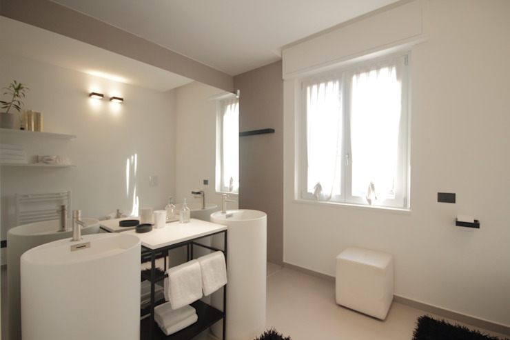luigi bello architetto Modern bathroom
