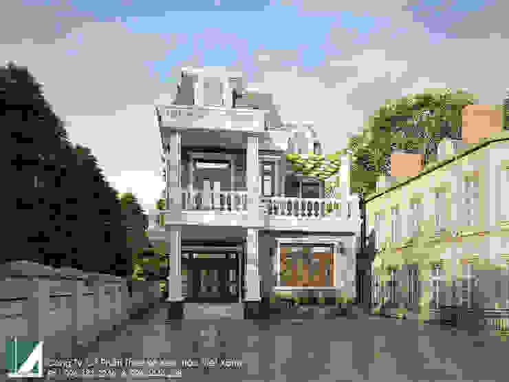 BIỆT THỰ 3 TẦNG CỔ ĐIỂN - BÁC THIẾU KIẾN THỤY - HẢI PHÒNG  bởi Kiến trúc Việt Xanh