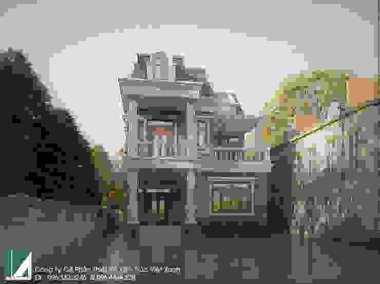 BIỆT THỰ 3 TẦNG CỔ ĐIỂN – BÁC THIẾU KIẾN THỤY – HẢI PHÒNG  bởi Kiến trúc Việt Xanh