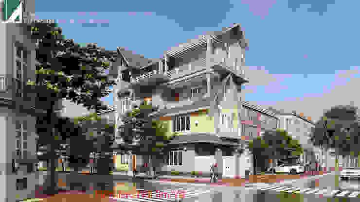 BIỆT THỰ BÁC HIẾU – LÊ HỒNG PHONG – HẢI PHÒNG bởi Kiến trúc Việt Xanh