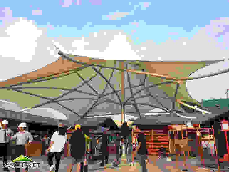 Thiết kế mái che khu ẩm thực Kenton Quận 7 bởi Công ty TNHH Havico Việt Nam