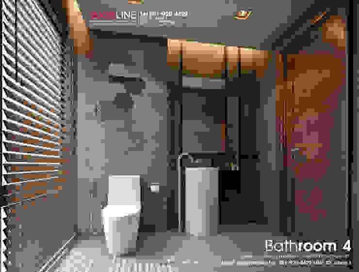 Interior Design : ออกแบบตกแต่งภายใน ภาพ Perspective 3D บ้านคุณไพศาล: ทันสมัย  โดย บริษัทแอคซิสลาย จำกัด, โมเดิร์น