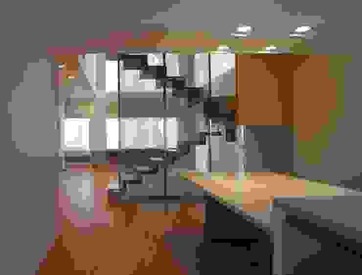 何宅樓梯 Ho Residence Stair 何侯設計 Ho + Hou Studio Architects 餐廳