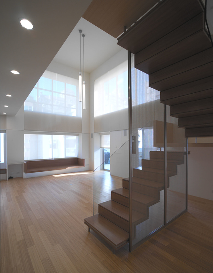 何宅樓梯 Ho Residence Stair 何侯設計 Ho + Hou Studio Architects 樓梯