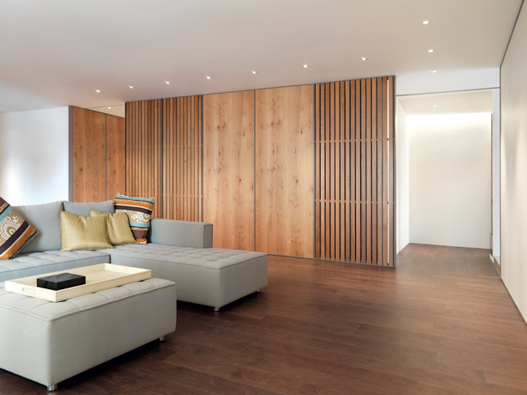 Modern Living Room by 何侯設計 Ho + Hou Studio Architects Modern