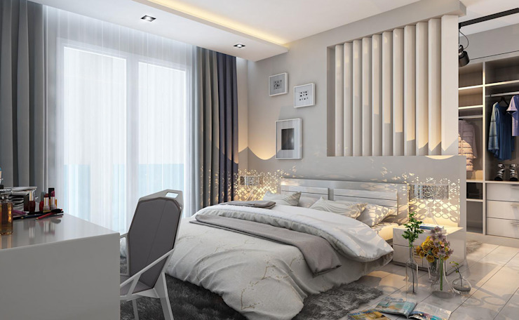 MİNERVA MİMARLIK SchlafzimmerBetten und Kopfteile