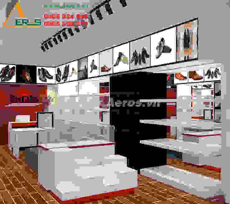 Thiet Ke Thi Cong Shop Giay Dep Giay Tot Tai Quan 1 bởi xuongmocso1 Hiện đại