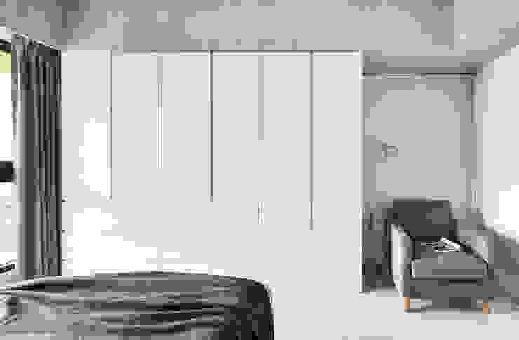 Minimalist bedroom by 思維空間設計 Minimalist