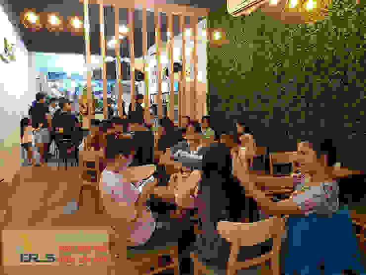 Thiet Ke Thi Cong Quan Tra Sua Ding Tea Tai Quan 1 bởi xuongmocso1 Hiện đại
