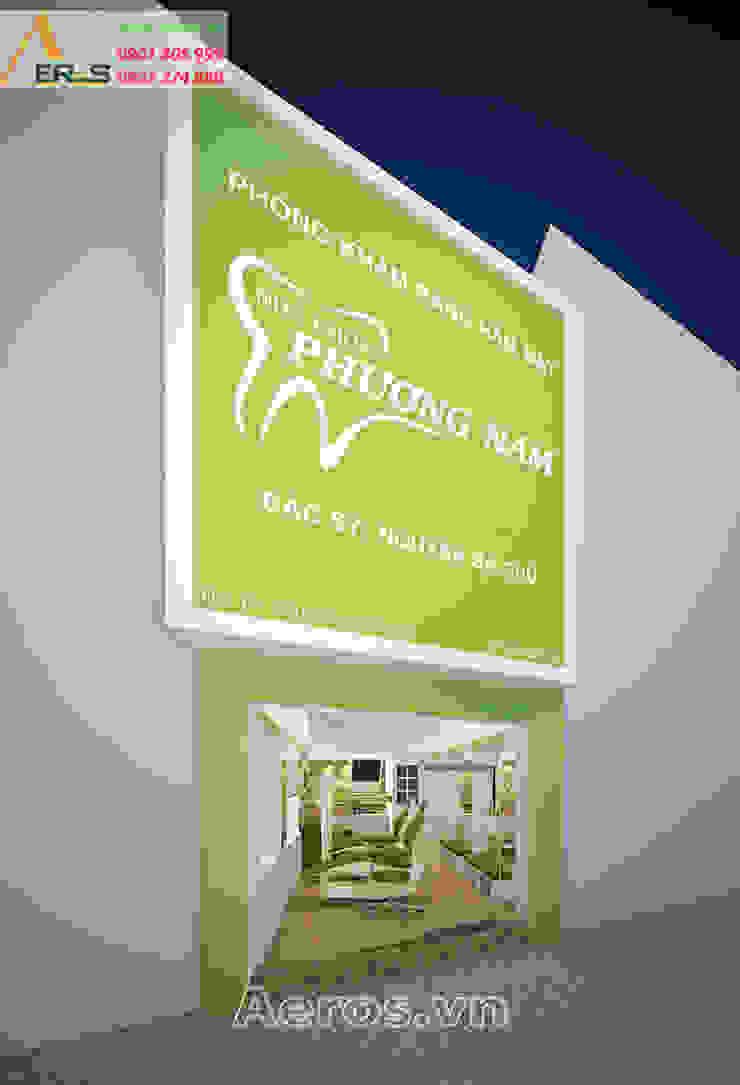 Thiet Ke Thi Cong Phong Kham Nha Khoa Phuong Nam Quan 1 bởi xuongmocso1 Hiện đại